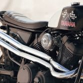 Yamaha Yard Built-Bike SCR950 Chequered Scrambler