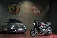 Abarth 695 Tributo XSR und Yamaha XSR 900 Abarth