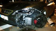 Seat Leon Cupra Unfall