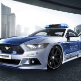 Polizeiauto Ford Mustang