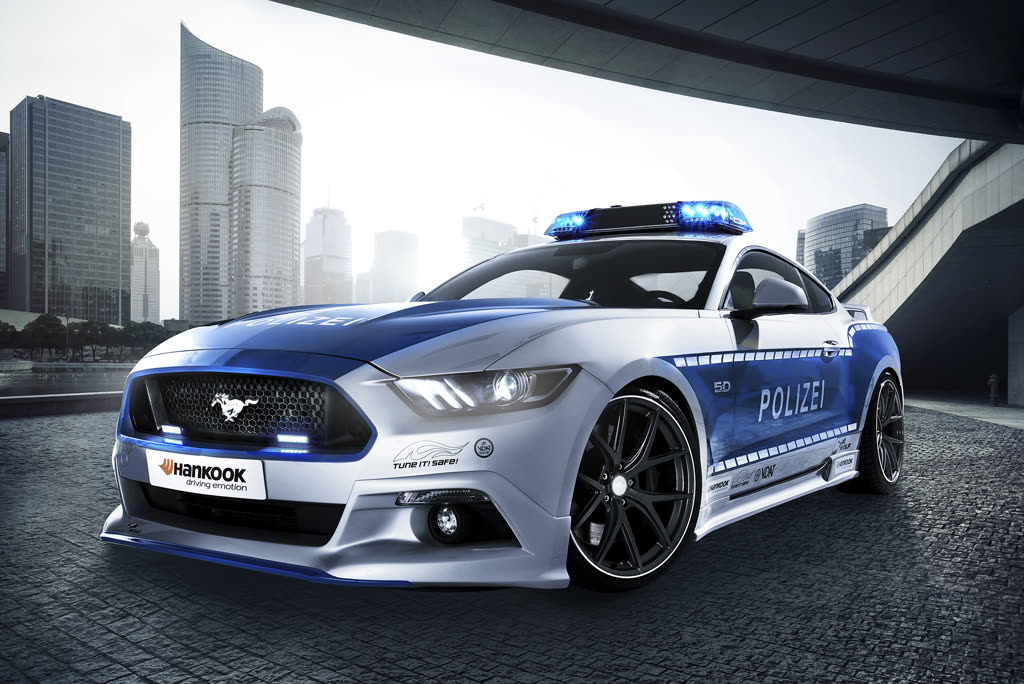 tuning polizei ford mustang autodino. Black Bedroom Furniture Sets. Home Design Ideas