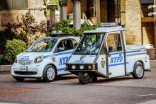 smart fortwo US NYPD Polizeiauto