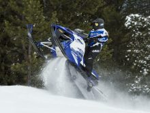 Yamaha Sidewinder Schneemobil