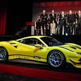 Ferrari 488 Challenge Rennwagen