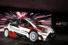 ToyotaGazooRacingWRC Official Presentation 13December 2017 - Helsinki
