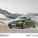 Weihnachts BMW