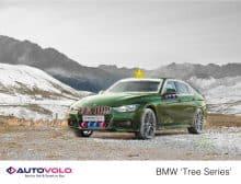 Weihnachts-BMW