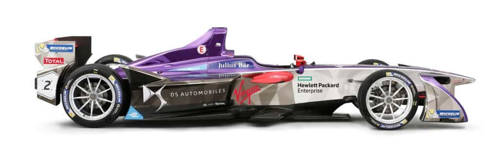 DSV-02 DS Performance Formel E Rennwagen