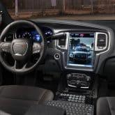 Dodge Charger Polizeiauto Innenraum