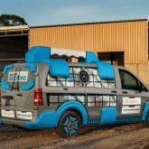 Mercedes-Benz Metris MasterSolutions Toolbox Concept Show Van