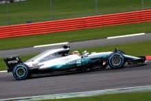 Mercedes F1 Rennwagen 2017