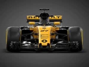 Renault Formel 1 2017 Rennwagen R.S.17