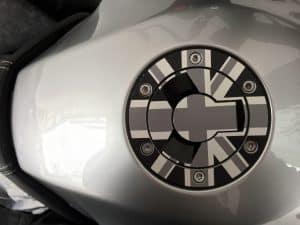 Tank Triumph Tiger Sport Aufkleber