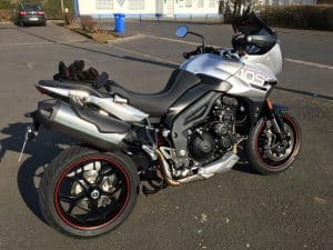 test triumph tiger sport