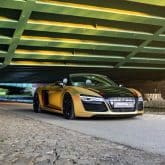 Audi R8 V10 Spyder Folierung