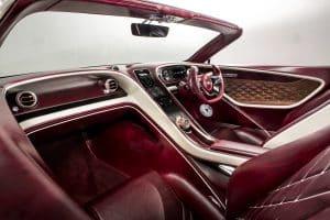 Bentley Konzept EXP12 Speed6e Innenraum