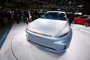 Brennstoffzellenauto Hyundai Fuel Cell FE Concept