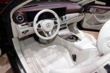 Mercedes-Benz E-Class Cabriolet Innenraum