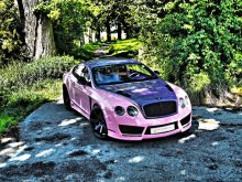 Bentley Continental GT Tuning Folierung