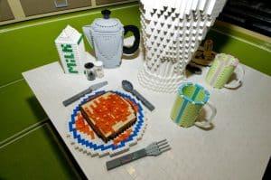 Lego Wohnwagen Essen