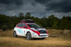 Nissan Leaf EV-AT Rallyeauto