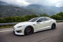 Tesla Model S P100 D Tuning