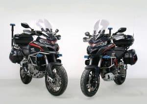 Ducati Multistrada Polizeimotorrad