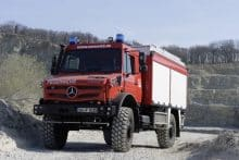 Feuerwehr Unimog 5023 TLF 3000 Schlingmann