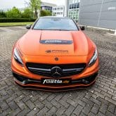 Mercedes-Benz-Coupe S 63 AMG Folierung Tuning
