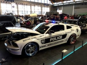 Mustang Polizeiauto