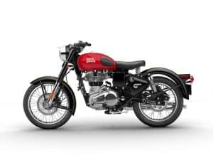 Royal Enfield Classic 500 Redditch Edition-rot