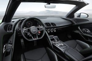 Audi R8 Spyder V10 plus Innenraum