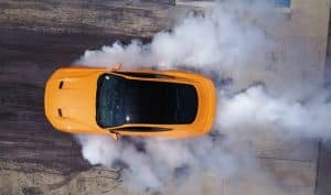 Ford Mustang Line Lock Burnout