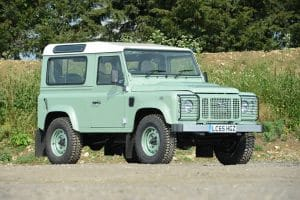 Land Rover Celebration Heritage Edition Defender