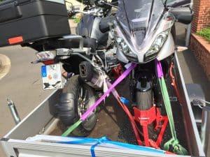 Motorradanhänger