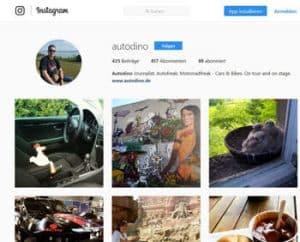 instagram autodino