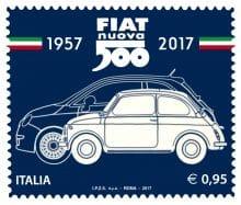 Fiat 500 Briefmarke