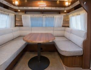 Innenraum LMC Caravan