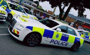 Rolls Royce Polizeiauto