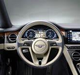 Bentley Continental GT 2018 Innenraum