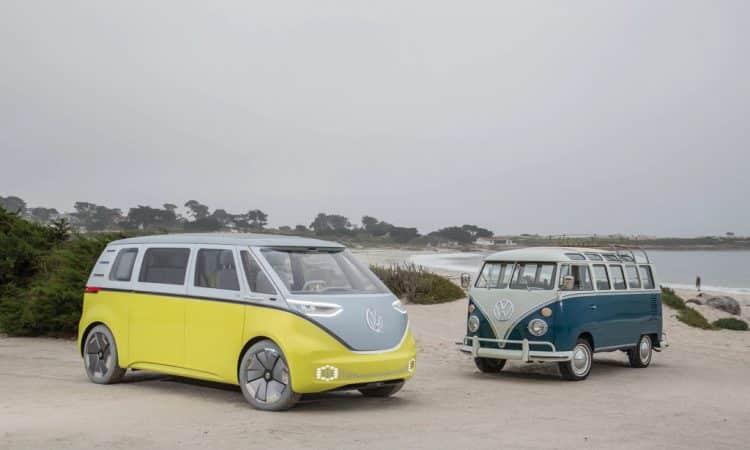 Volkswagen I.D. Buzz und Volkswagen Bus T1
