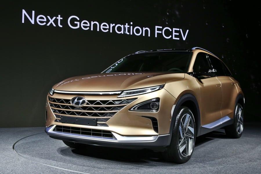 Hyundai Brennstoffzellen SUV