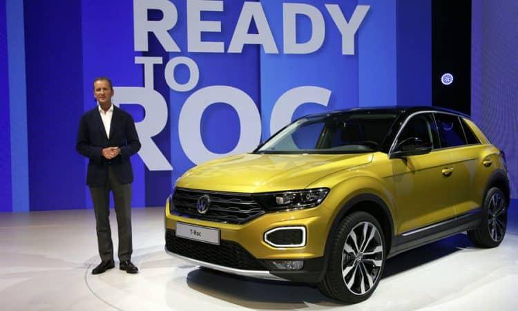 VW T-ROC Crossover SUV