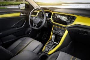 VW T-ROC Crossover SUV Innenraum