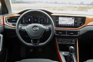 VW Polo Probefahrt Innenraum 2018