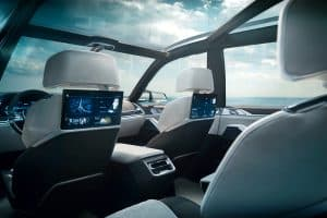 BMW Concept X7 iPerformance Innenraum