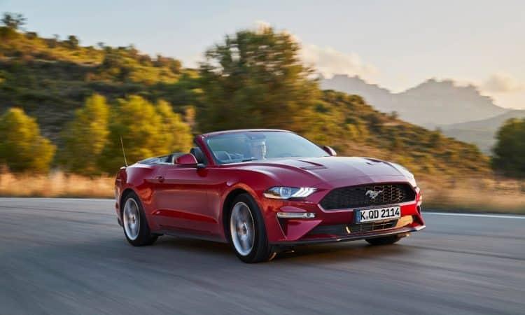 Änderungen Ford Mustang 2018 Cabrio