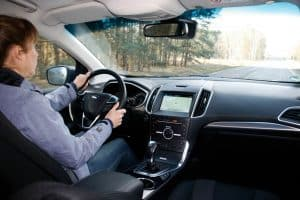 Ford Edge 2.0 TDCI Test Innenraum