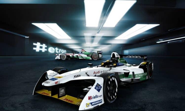 Formel E Audi e-tron FE04