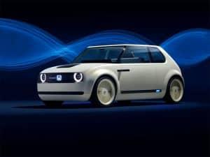 IAA Elektroautos Honda Urban EV Concept